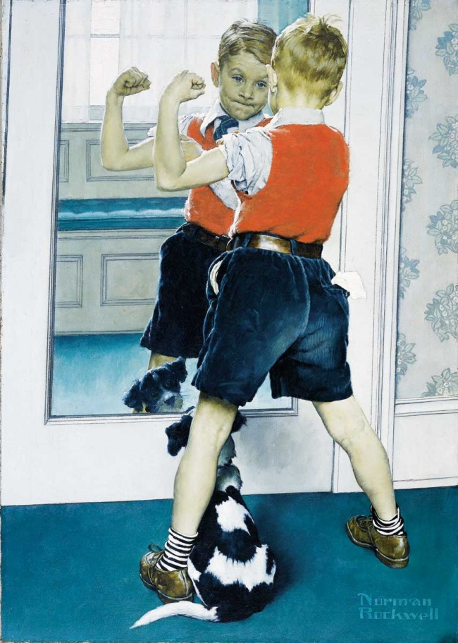 the life of norman rockwell an american painter and illustrator and his work the problem we all live He was a renowned painter and illustrator whose work enjoyed the problem we all live with are among his most famous pieces norman rockwell spent most of his.