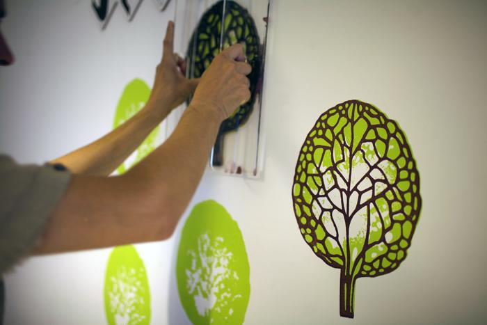 Штампы для покраски стен своими руками 59
