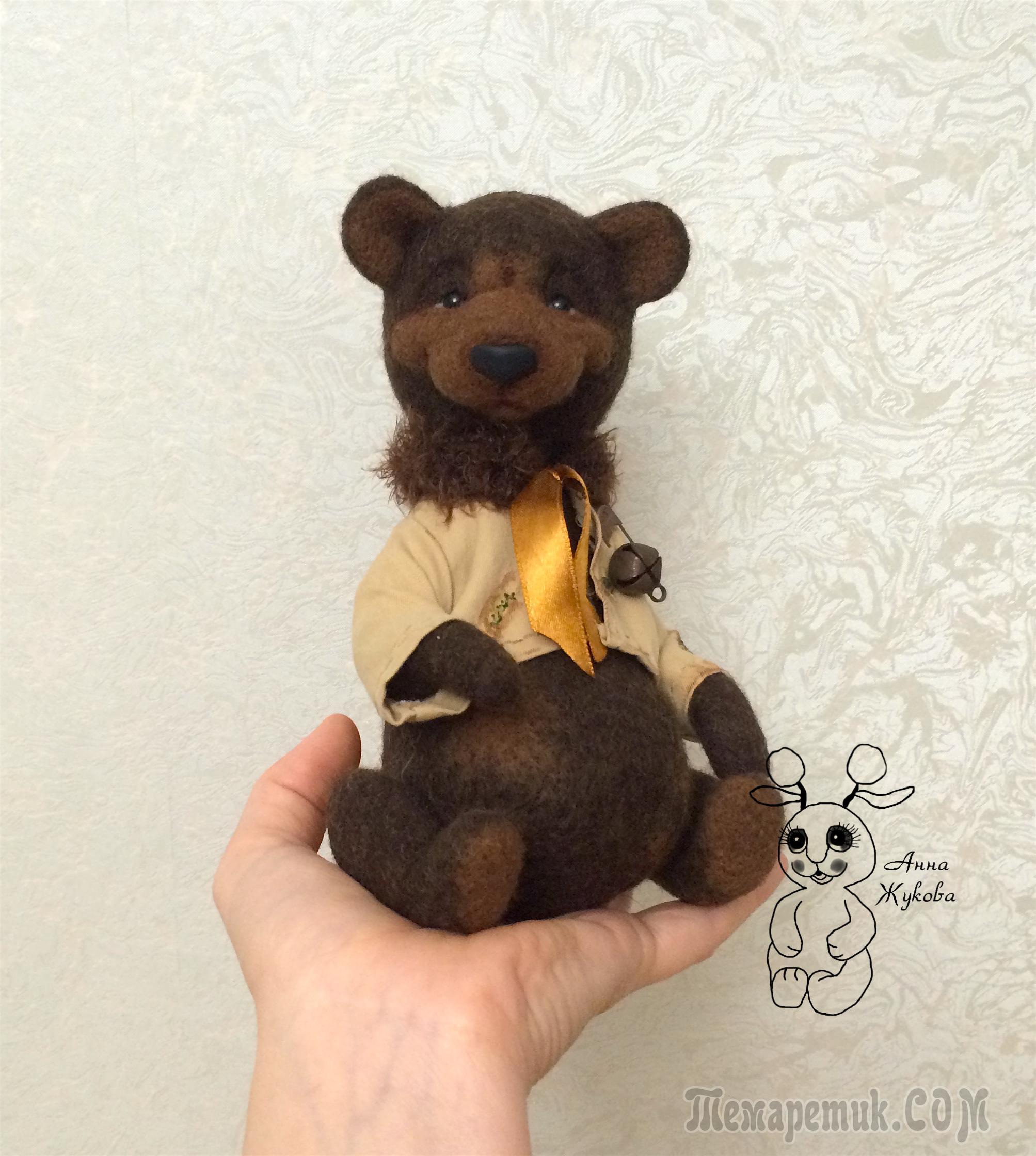Мишка из шоколада своими руками 7