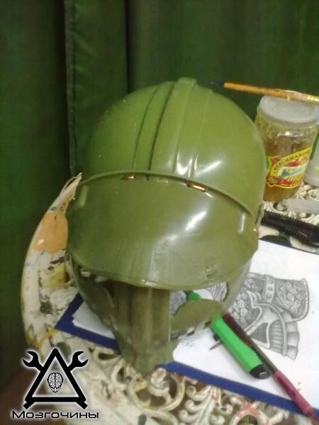 Шлем из жести