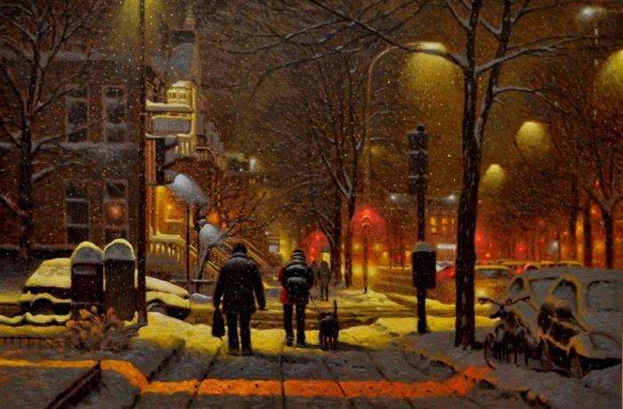 Картина от канадского художника Richard Savoie.