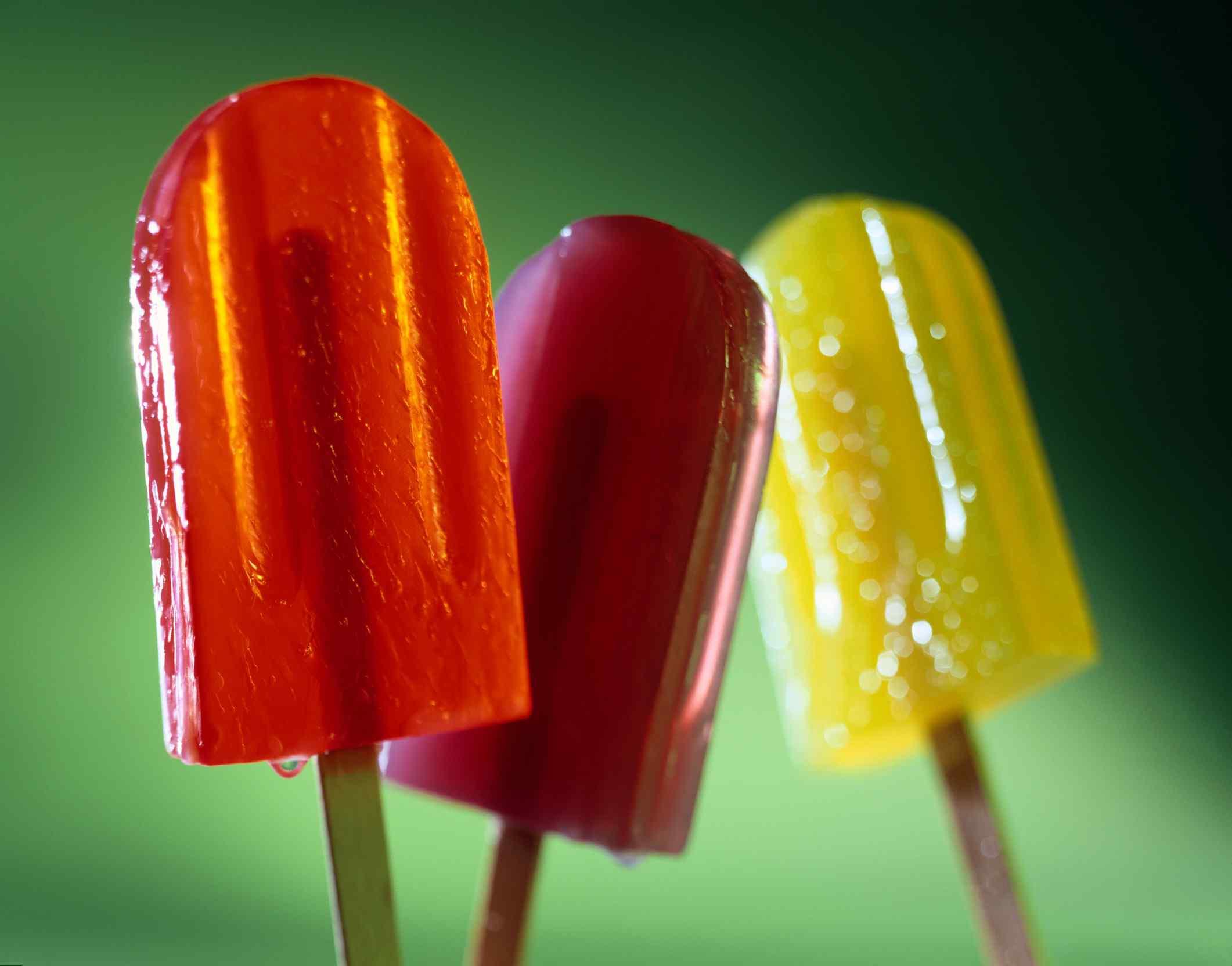 Как сделать мороженое в домашних условиях фруктовый лёд из сока