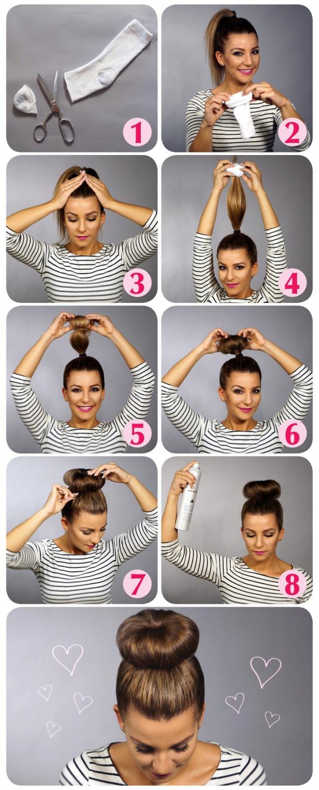 Как сделать прическу в домашних условиях эффект мокрых волос