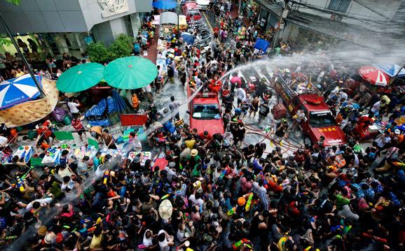 Водный фестиваль Сонгкран