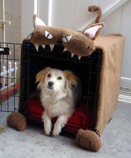 12 креативных домиков, которые хозяева сами сделали для своих собак фото 3