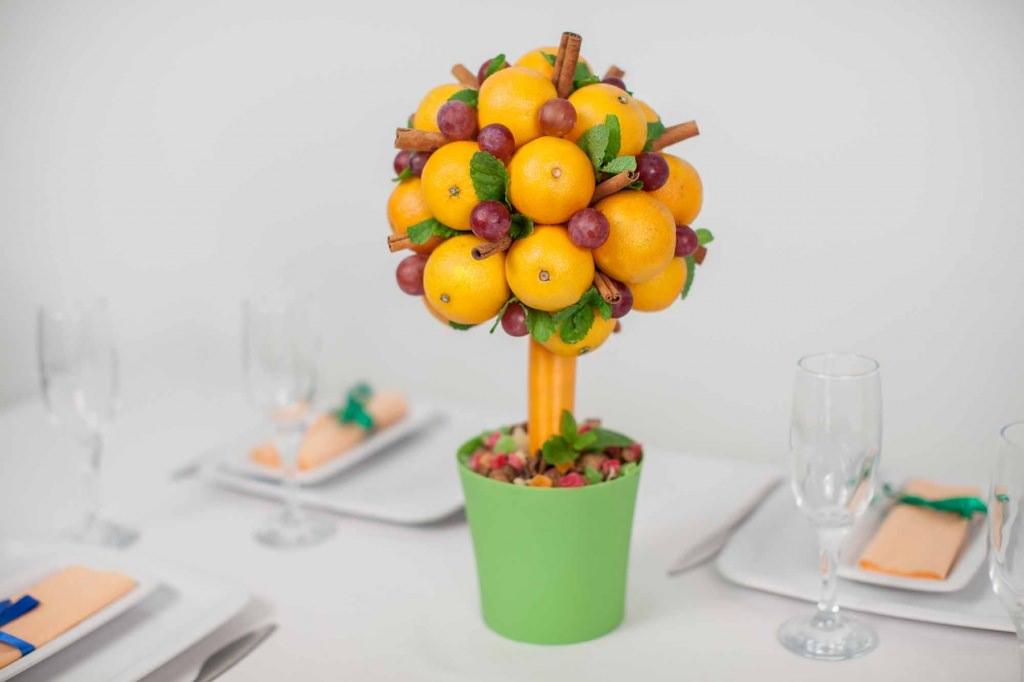 Дерево из фруктов как сделать
