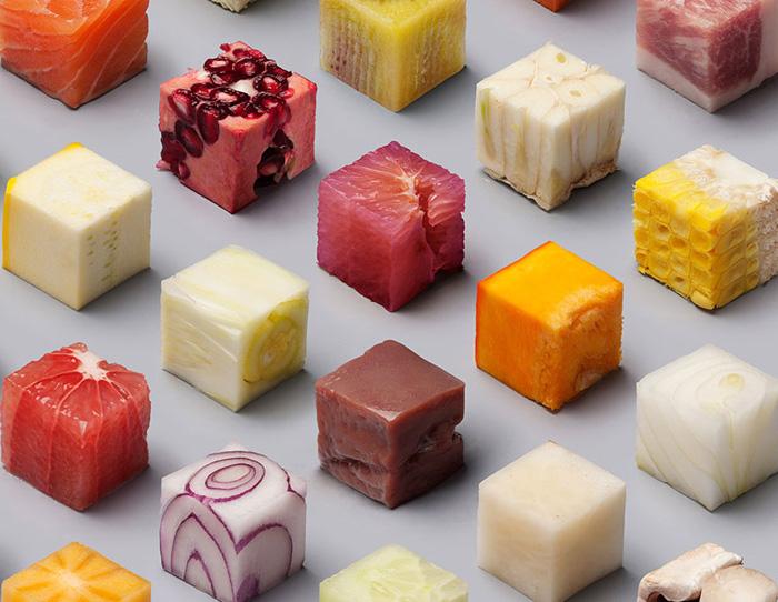 Lernert and Sander: еда идеальной формы.