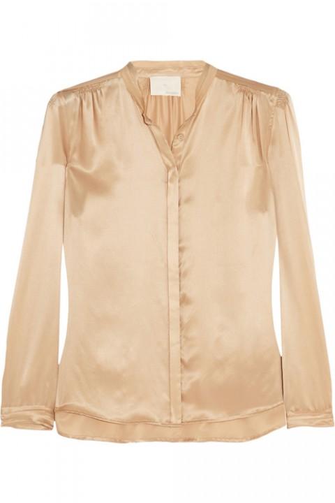Блузки из шелка выкройки