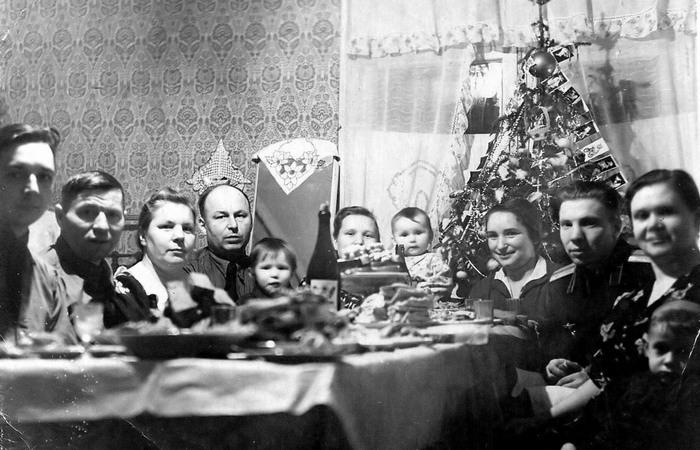 Новый год - прекрасное время для семейных встреч.