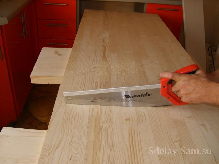 Ремонт деревянной столешницы своими руками - Mosstroyservice