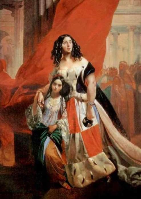 �. �������. ������� ������� �. �. ����������, ����������� � ���� � ������������� ��������� ������, 1839-1840 | ����: gallerix.ru