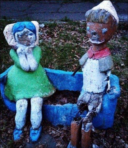 Кошмары наших дворов
