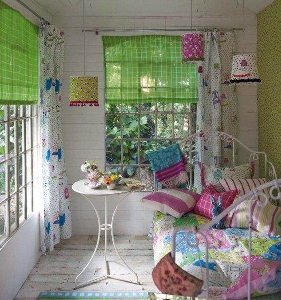 Уютная маленькая комната своими руками
