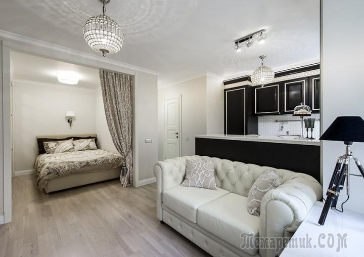 Квартира 43 кв.м дизайн