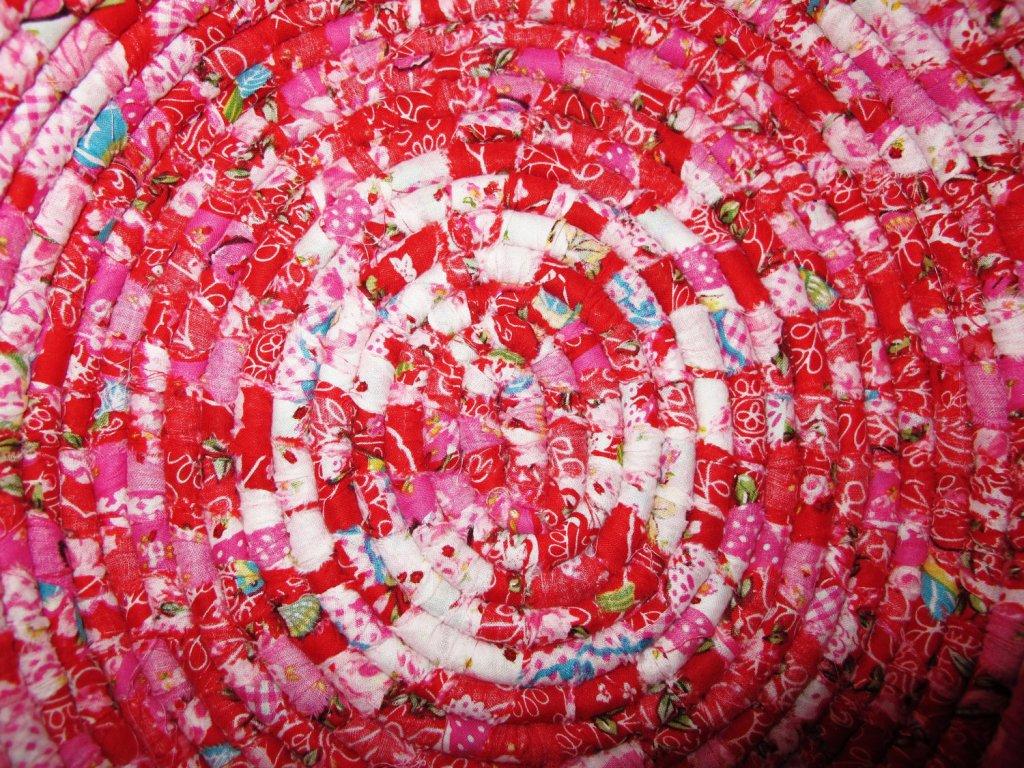 Плетение ковриков на раме своими руками фото 951