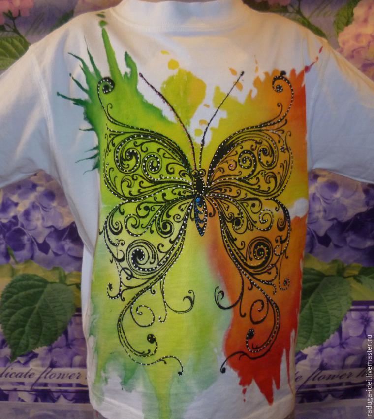 Роспись Блузки Акриловыми Красками