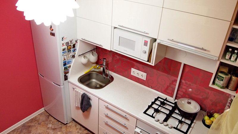 Маленькая кухня дизайн 7 квм