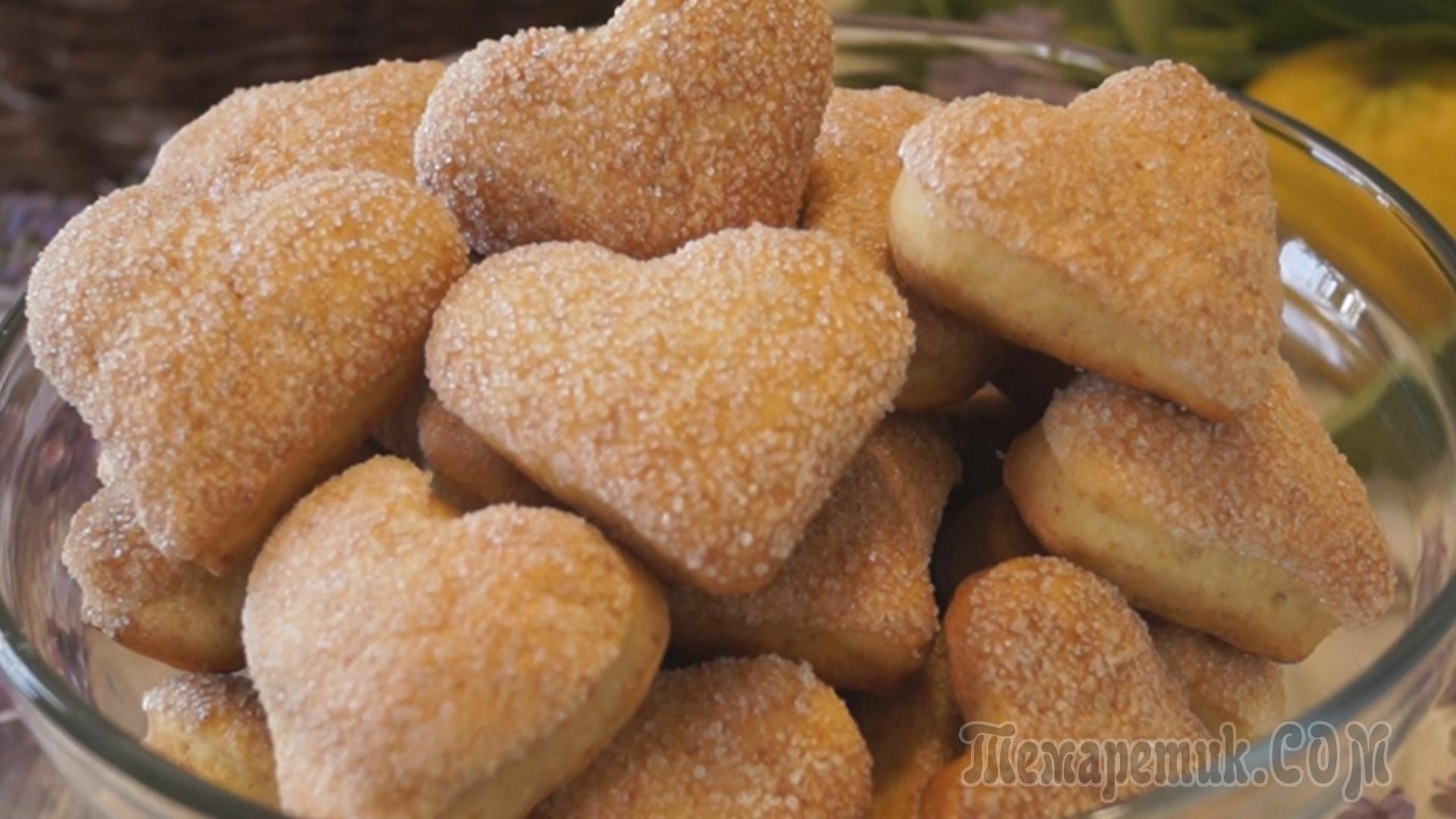 Как приготовить домашние печенья простое