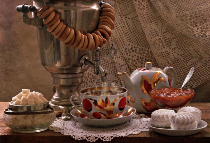 Россия в мире, чай