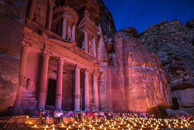 Каменный город в Иордании