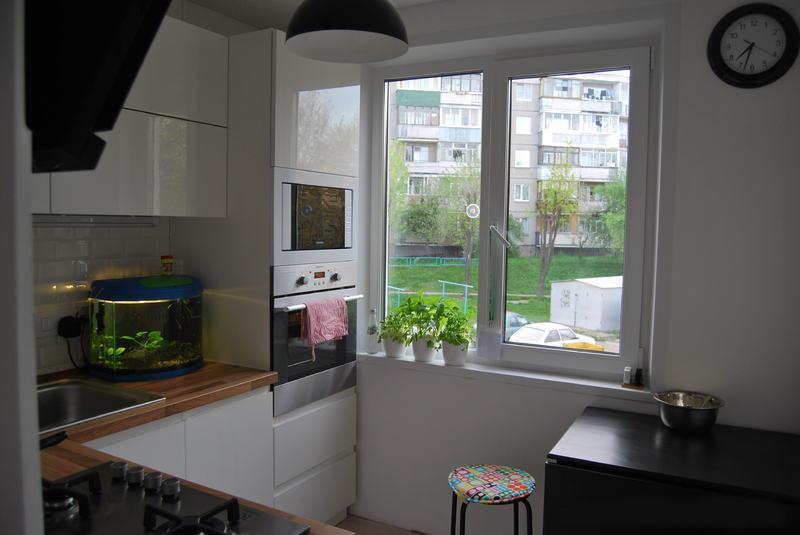 Дизайн маленькой кухни 3 на 3