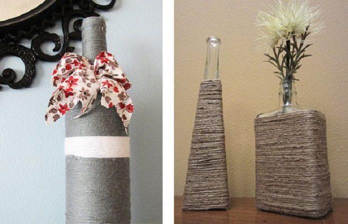 Оригинальные вазы своими руками