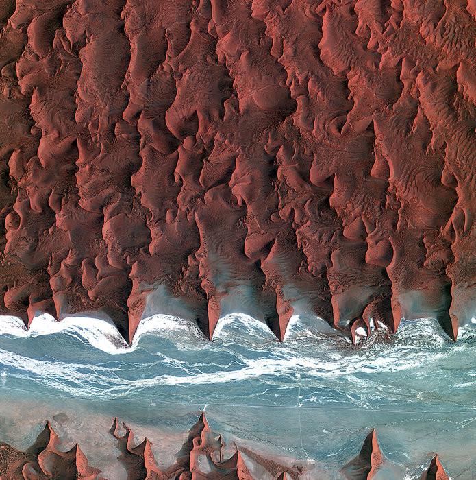 13. Пустыня Намиб красота, удивительное рядом, фото, фотошоп