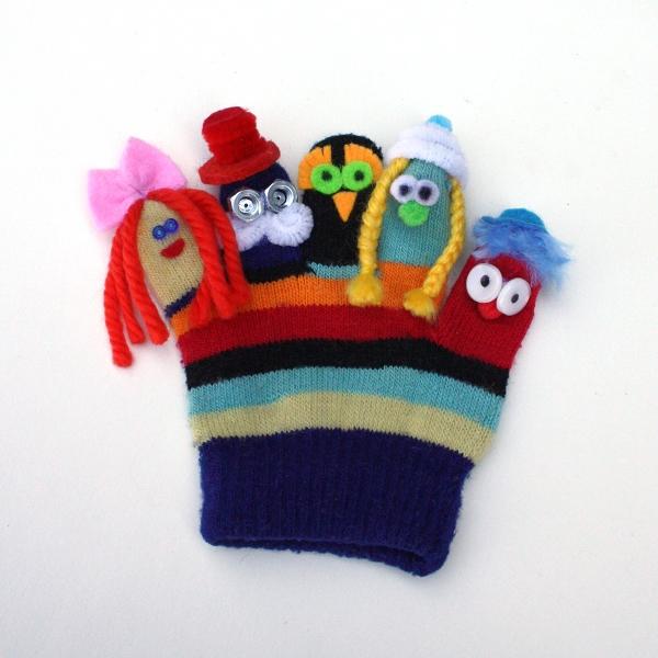 Кукольный театр своими руками из перчаток своими руками
