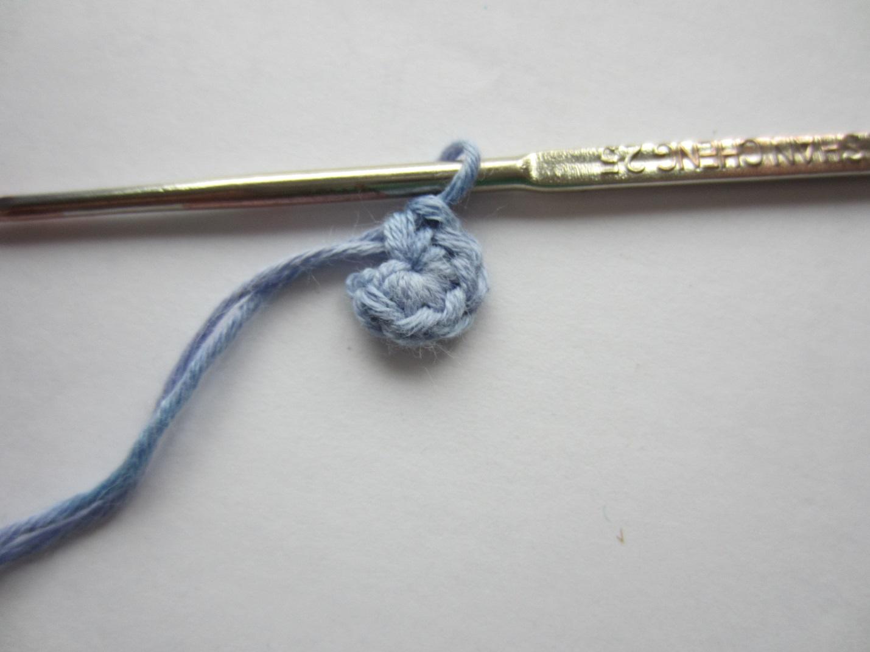 Как вязание замкнуть в кольцо