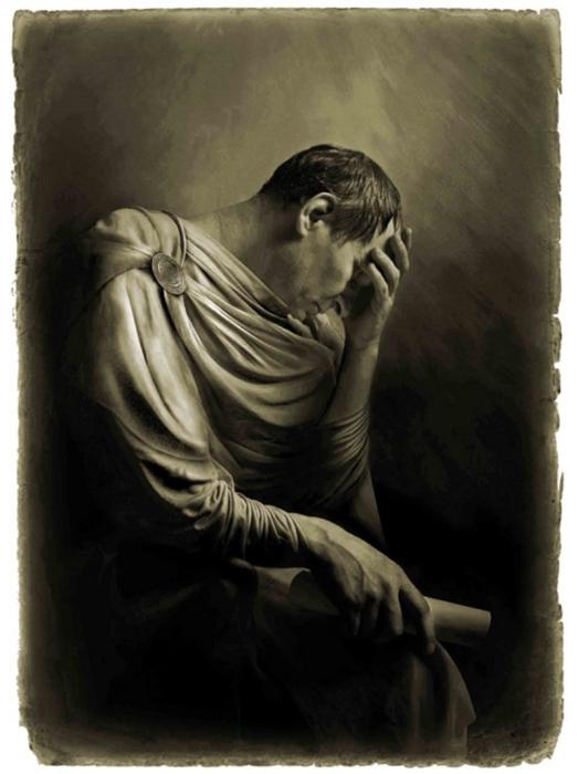 Понтий Пилат. «Мастер и Маргарита». Фотоиллюстрации Елены Мартынюк.