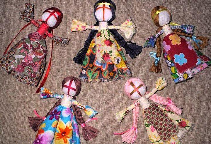 Кукла своими руками из лоскутков