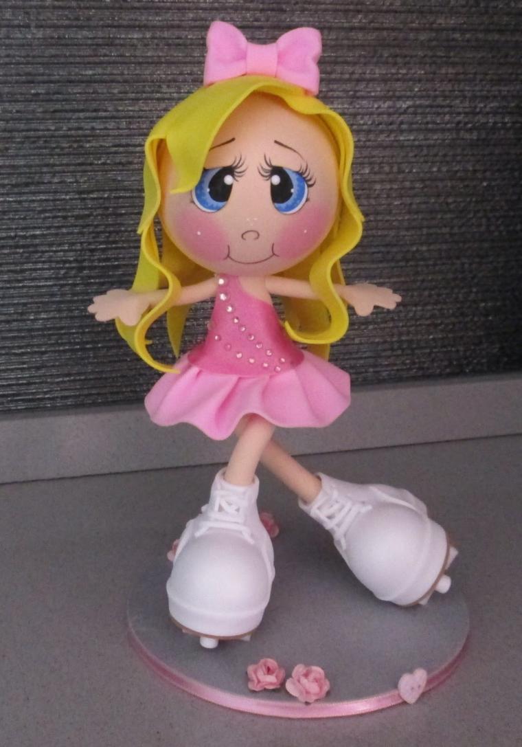 Куклы из фоамирана: фото мастер класс своими руками 48