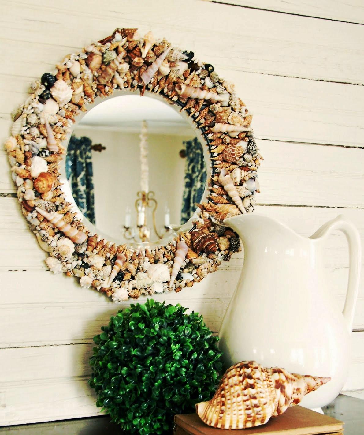 Декоративные рамки для зеркал своими руками