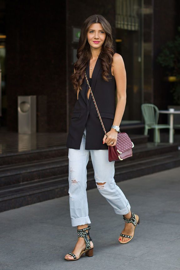 9 свежих способов носить длинный жилет в этом мае