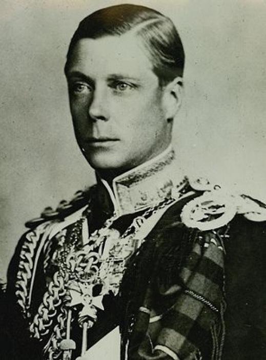 Эдуард VIII - король Великобритании в период с 20 января по 11 декабря 1936 года. | Фото: chatafrik.com.