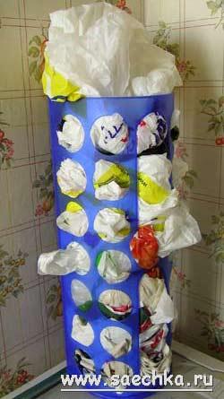 Для хранения пакетов своими руками 32