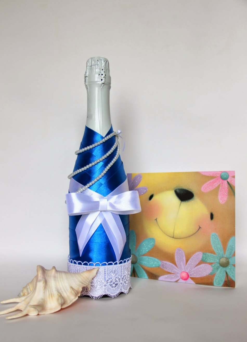 Шампанское на день рождения своими руками