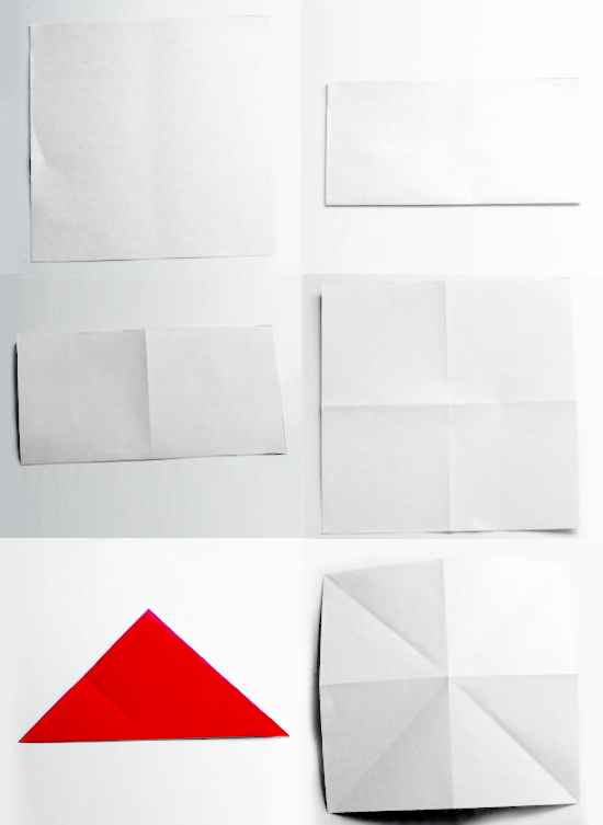 бантик оригами