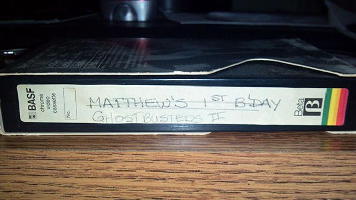 (зачеркнуто) Первый день рождения Мэтью. - (теперь) Охотники за приведениями 2.