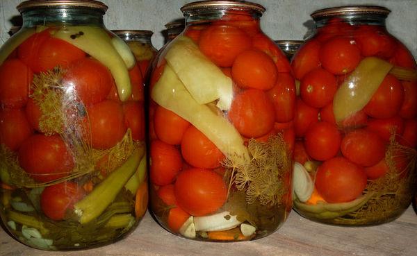 Овощи консервированные в домашних условиях 914