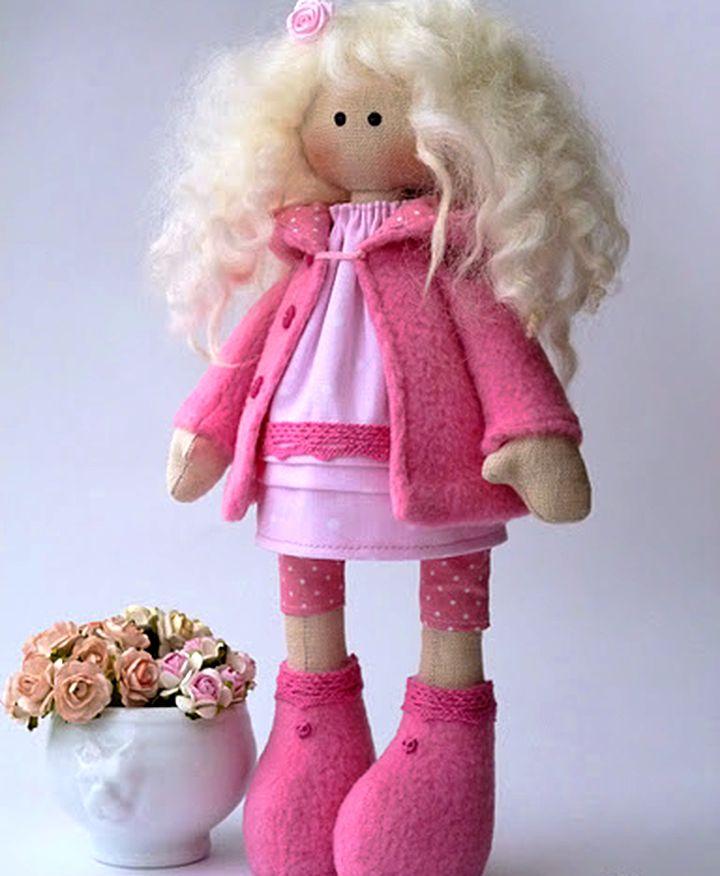 куклы из ниток своими руками пошаговая инструкция - фото 4