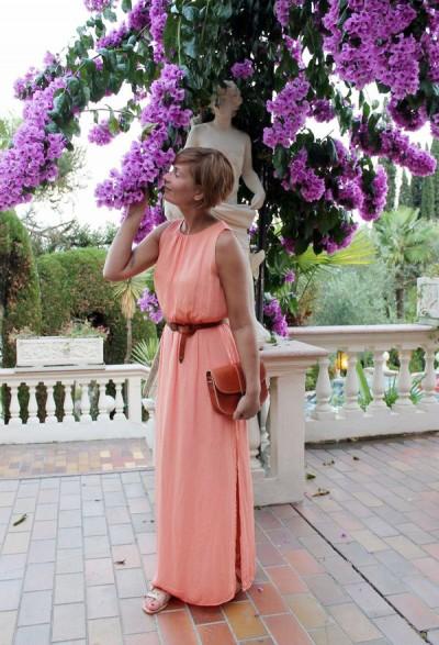 длинное платье с прямой юбкой для женщины 50 лет