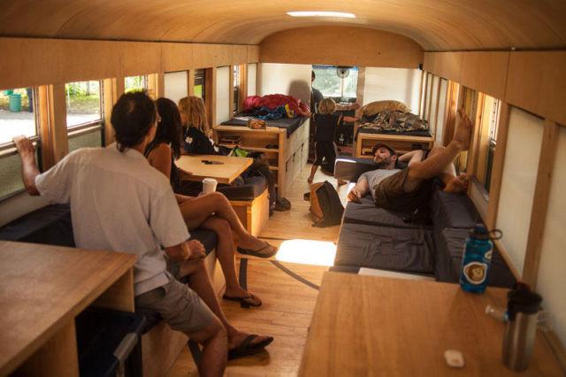 Как дать старенькому автобусу вторую жизнь автобус, креатив, луаз