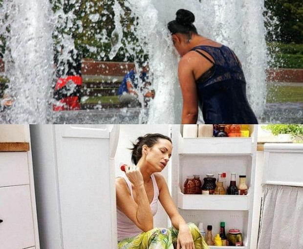 Несколько советов, как охладиться жарким летом (9 фото)