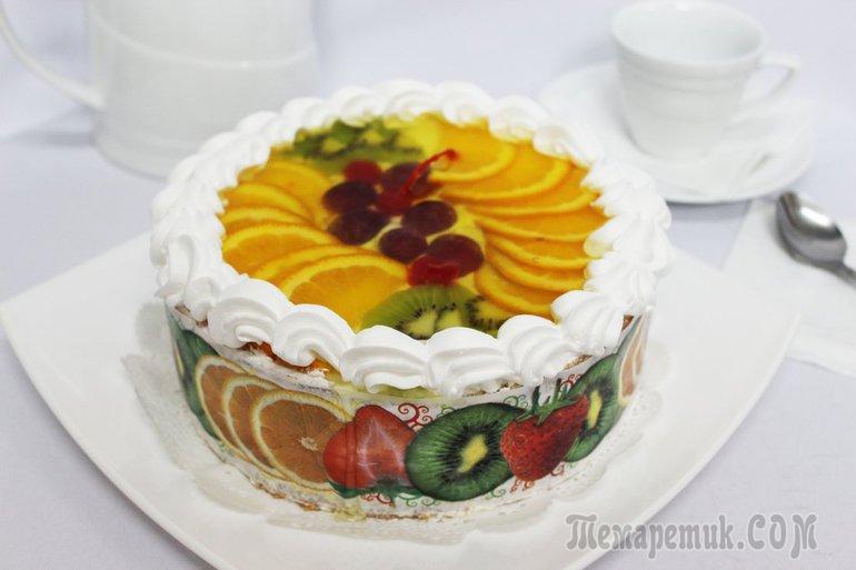 Рецепт йогуртовых тортов