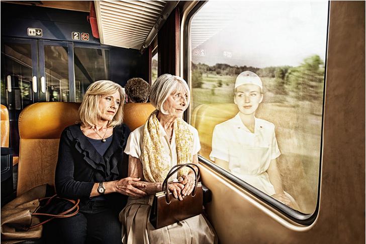 Отражение прошлого в фотопроекте Тома Хасси