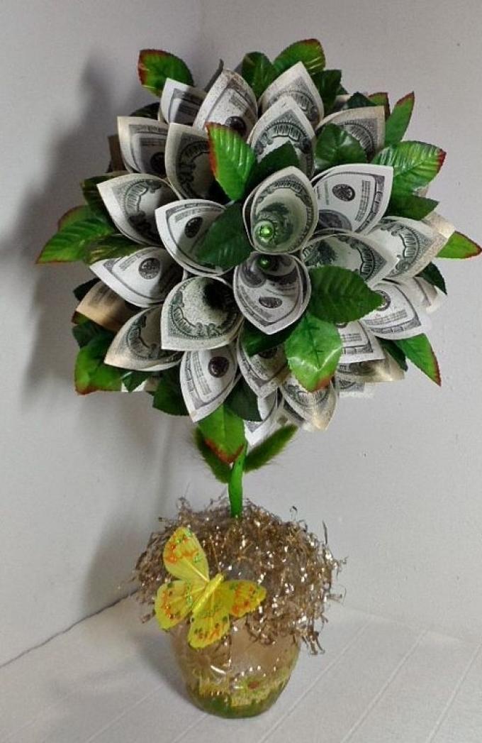 Что сделать своими руками денежное дерево 92