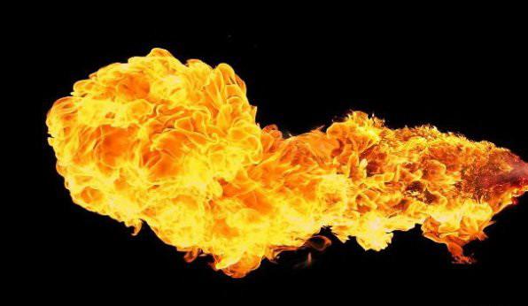 12. Молодой человек проснулся в огне интересно, люди, мир, наука, феномен