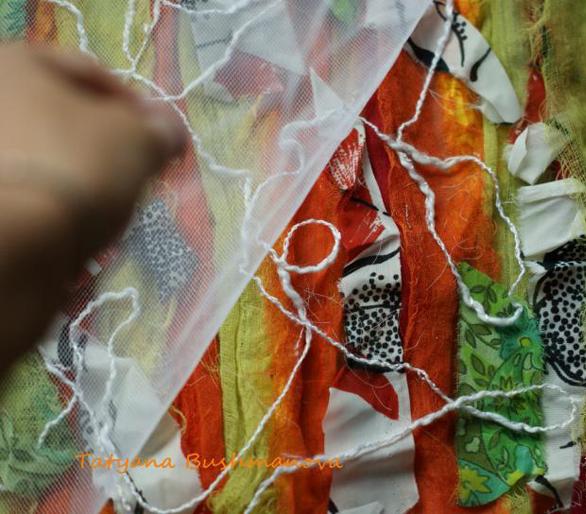 Создаем арт-ткань. Мастер-класс