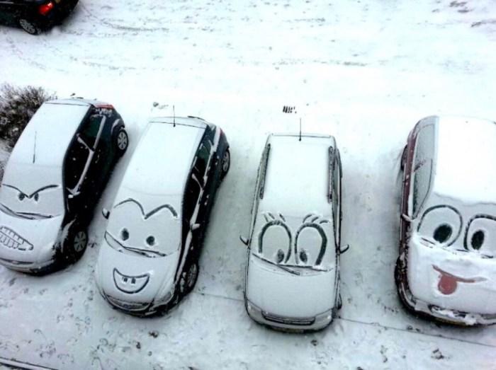 Автомобильный юмор.